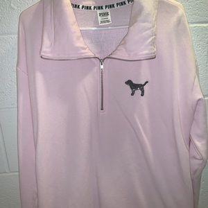 Pink sweatshirt with sequin bling